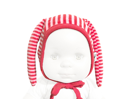 Hat 'Krabat' organic cotton (red/pink)
