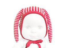 Hat 'Krabat' organic cotton (red/pink)
