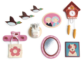 Dollhouse accessories 'Wall decor'