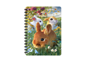 Notebook 3D Bunnies small