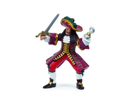 Piratfort med Papo-figurer