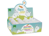 Windup rabbit display (12pcs)