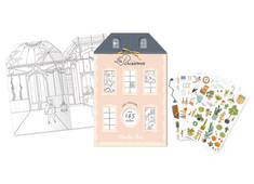 Book 'Les Parisiennes' with stickers