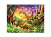 Kort 3D Dinos i grupp