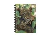Anteckningsbok 3D Leopardunge liten
