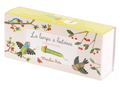Ficklampa med berättelser 'Le Jardin' flora