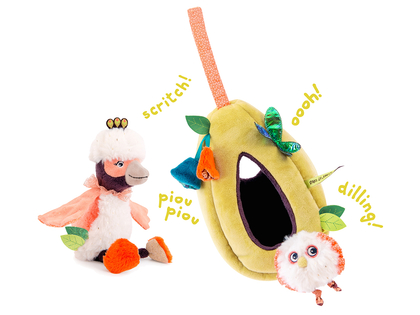 Activity toy 'Dans la Jungle'
