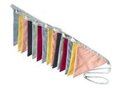 Flag garland 'Linen'
