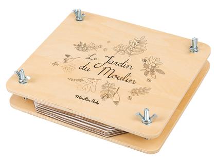 Blomsterpress 'Le Jardin' fransk