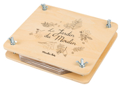 Flower press 'Le Jardin' French