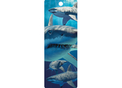 Bookmark 3D Great White Sharks