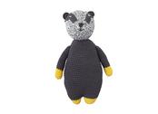 Crochet badger