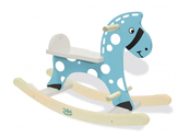 Rocking horse 'Stormy' blue
