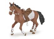Häst till ryttare vinter