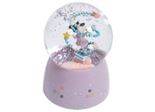 Musical globe 'Il Etait Une Fois' with confetti