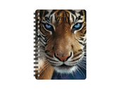Notebook 3D Blue eyes small