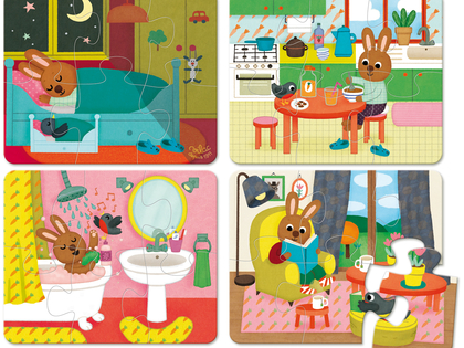 Puzzle At Rabbit's House