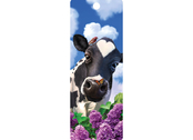 Bookmark 3D Curious Cow