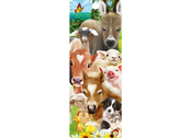 Bookmark 3D Baby Farm Animals