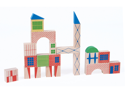 Klossar Stad 'Dans la Ville' stor låda