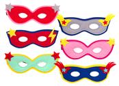 Mask 'Superhero' assorted