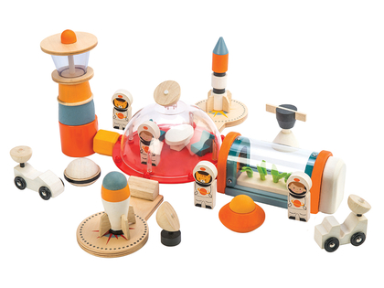 Space station play set