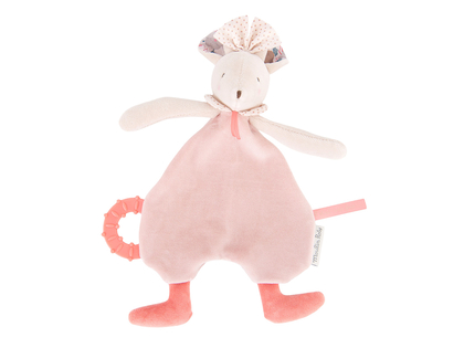 Blanky Mouse 'Il Était Une Fois' with teether