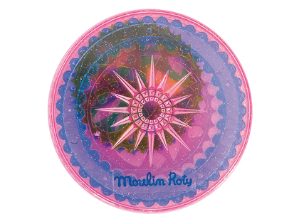 Mandala-ringar display (8st)