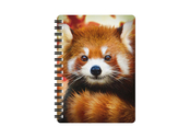 Notebook 3D Baby red panda small
