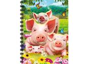 Notebook 3D Pig pen large