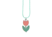 Necklace & ring 'Tulip'