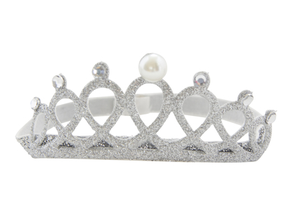 Hairband 'Crown' silver