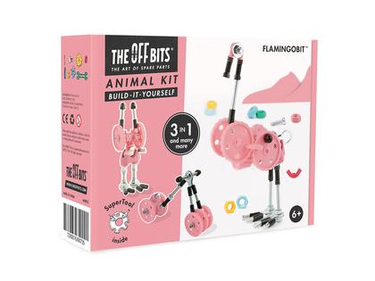 Bygg en flamingo 'Flamingobit'