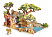Savannah with Papo figurines