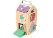 Lock box house with monsters