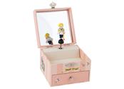 Speldosa 'Les Parisiennes' med smyckeskrin