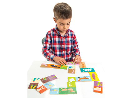 Game dominos 'Animals'