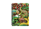 Notebook 3D Curious creatures small
