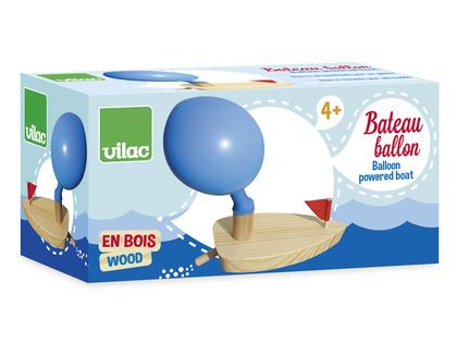 Båt  med ballongdrift