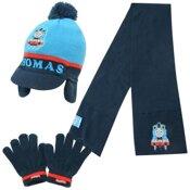 Thomas lue, skjerf og hansker