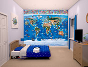 Map Of The World  tapet