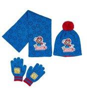 Super Mario lue, skjerf og hansker