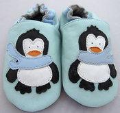 Tøfler med pingvin