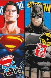 Batman og Supermann Fleecepledd