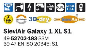 SieviAir Galaxy 1 S1