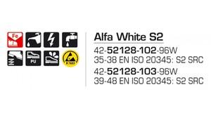 Alfa White S2