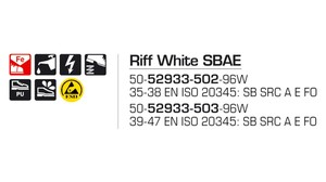 Riff White SBAE