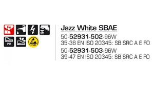 Jazz SBAE White