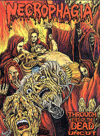Necrophagia - Through The Eyes Of The Dead: Uncut DVD [DVD]
