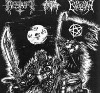 Besatt/Evilwar/Infernal Kingdom - United by the Black Flag [CD]